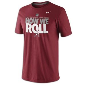 Nike Alabama Celebration T Shirt   Mens   Alabama Crimson Tide