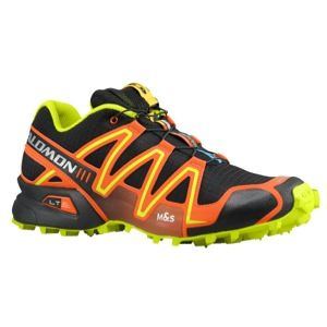 Salomon Speedcross 3   Mens   Running   Shoes   Black/Tomato Red/Pop