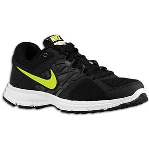 Nike Air Relentless 2   Womens   Black/Volt/Metallic Dark Grey/White