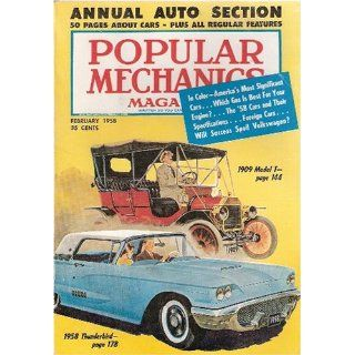 Popular Mechanics Magazine   February 1958   (Volume 109 Number 2
