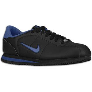Nike Cortez   Mens   Running   Shoes   Black/Dark Royal Blue