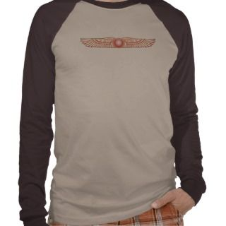 Sumerian Anunnaki Winged Sun Disk Shirts