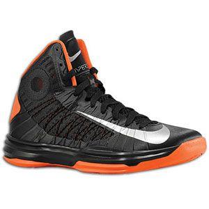 Nike Hyperdunk   Mens   Basketball   Shoes   Black/Team Orange