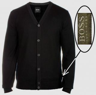Hugo Boss Black Label by Hugo Boss Virgin Wool Cardigan Sweater Orig