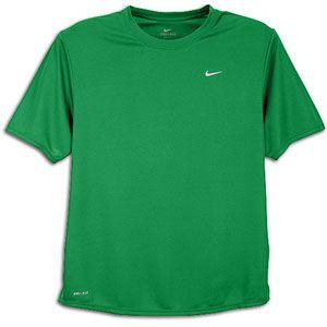 Nike Challenger T Shirt   Mens   Running   Clothing   Court Green