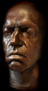 Hugo Weaving Life Mask Matrix Agent Smith RARE Life Cast Light Weight