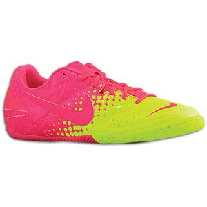 Nike Nike5 Elastico   Mens   Soccer   Shoes   Pink/Volt/Flash Pink