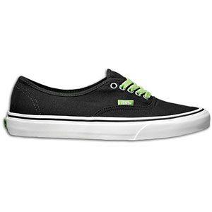 Vans Authentic   Mens   Skate   Shoes   Black
