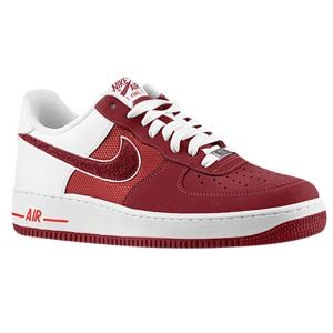 Nike Air Force 1 Low   Mens   Basketball   Shoes   Hyper Red/Team Red