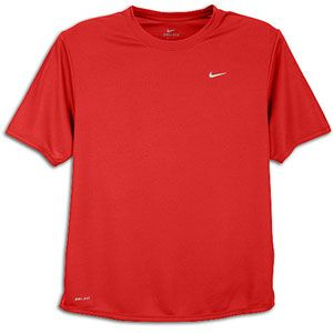Nike Challenger T Shirt   Mens   Running   Clothing   Gym Red