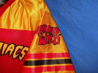 WWE WRESTLING HULK HOGAN HULKAMANIACS HULKAMANIA #1 RED YELLOW JERSEY