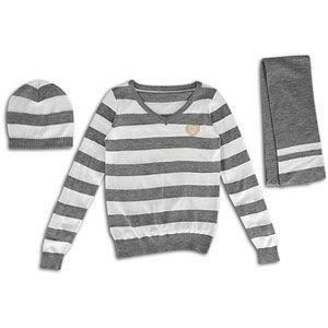 Southpole 3 Fer Stripe Sweater   Womens   Casual   Clothing   Heather