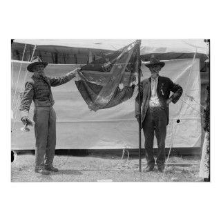 Raising a Confederate Flag at a Civil War Reunion Posters