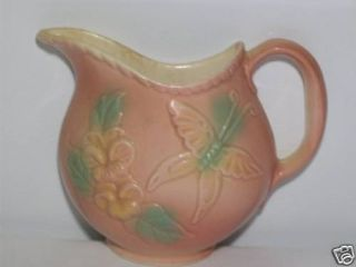 Hull Pottery 81 SunGlow Pitcher Wall Pocket