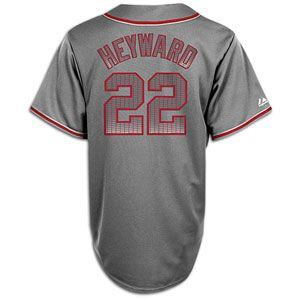 Majestic MLB Storm Jersey   Mens   Jason Heyward   Atlanta Braves