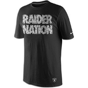 Nike NFL Local T Shirt   Mens   Football   Fan Gear   Oakland Raiders