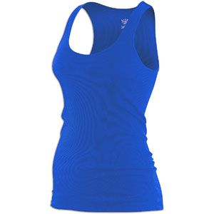 Nike Rib Tank   Womens   Casual   Clothing   Signal Blue