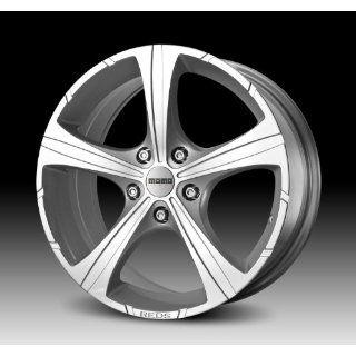 MOMO Car Wheel Rim   Black Knight   Silver   16 x 7 inch   5 on 114.3