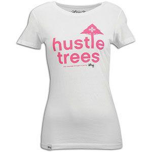 LRG Hustle Trees S/S T Shirt   Womens   Skate   Clothing   White