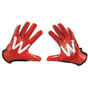 adidas adiZero Smoke College Logo Glove   Mens   Football   Sport