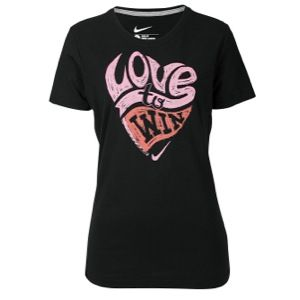Nike Valentines Day Short Sleeve T Shirt   Womens   Casual