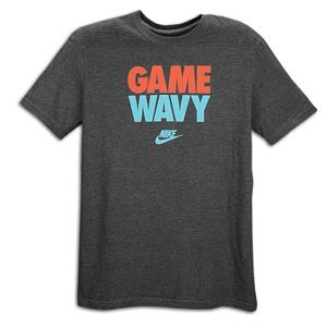 Nike Graphic T Shirt   Mens   Casual   Clothing   Charcoal Heather