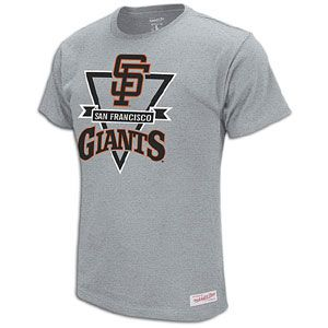 Mitchell & Ness MLB Diamond T Shirt   Mens   San Francisco Giants