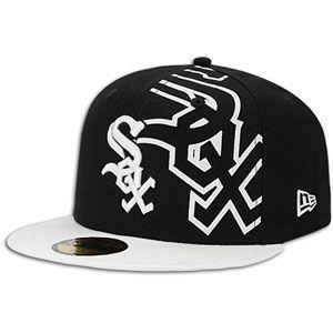 New Era MLB 59fifty Trimill Cap   Mens   Baseball   Fan Gear   White