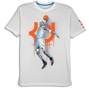 Nike KD Hero Stencil T Shirt   Mens   Basketball   Clothing   White