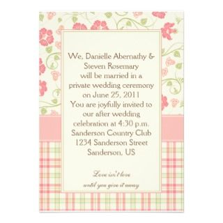 Emily Post Wedding Invitation and get inspiration to create nice invitation ideas