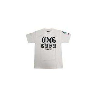 Dgk Og Kush Large White Short Sleeve: Sports & Outdoors