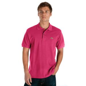Lacoste Classic Pique Polo   Mens   Casual   Clothing   Tannic Purple