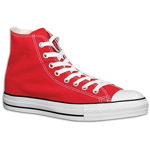 Converse All Star Hi   Mens   Basketball   Shoes   Bright Red/White