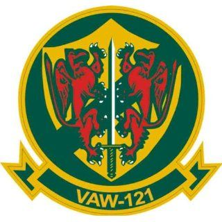 US Navy VAW 121 Bluetails Squadron Decal Sticker 3.8 6 Pack