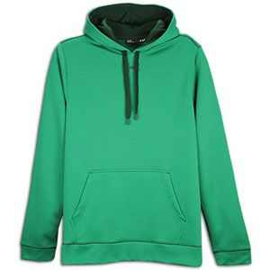 Under Armour Tech Fleece Hoodie   Mens   Classic Green/Forest Green
