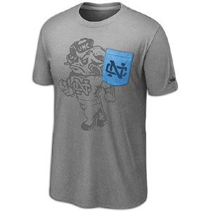 Nike College Vault Tri Blend Pocket T Shirt   Mens   Basketball   Fan