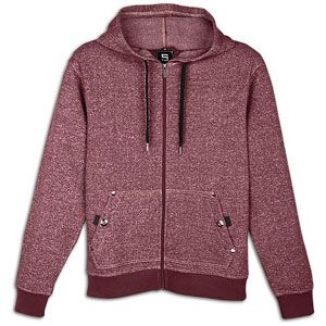 Southpole Full Zip Denim Fleece Hoodie   Mens   Casual   Clothing