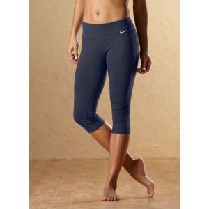Nike Tight Dri Fit Cotton Capri   Womens   Training   Clothing