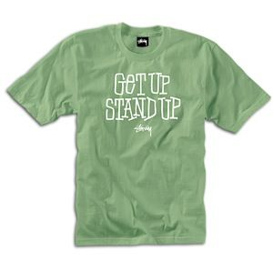 Stussy Get Up Stand Up T Shirt   Mens   Skate   Clothing   Spruce