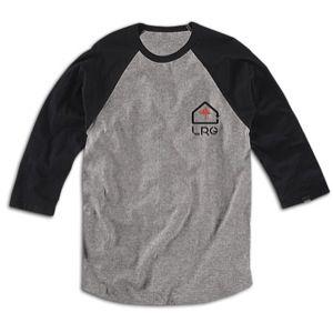 LRG House of Trees Baseball T Shirt   Mens   Skate   Clothing   Ash