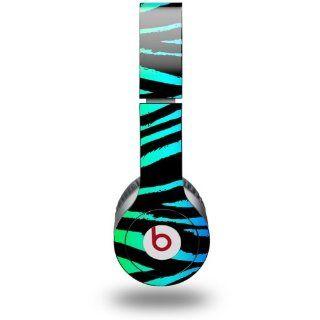 Pink Zebra Decal Style Skin (fits Beats Solo HD Headphones