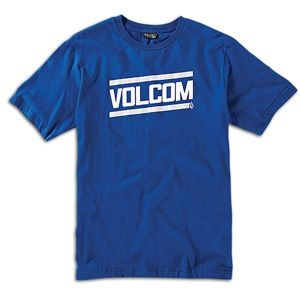 Volcom Speed Shop T Shirt Mens Skate Clothing Bold/Blue
