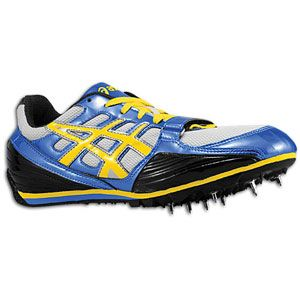 ASICS® Turbo Jump   Mens   Track & Field   Shoes   Jet Blue/Yellow