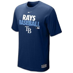 Nike MLB Dri Fit Graphic T Shirt   Mens   Baseball   Fan Gear   Rays