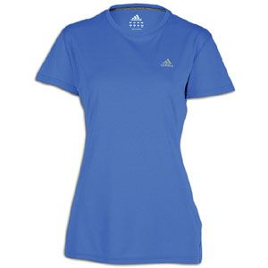 adidas Ultimate Workout T Shirt   Womens   Prime Blue/Reflective