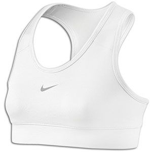 Nike Pro Bra   Girls Grade School   Training   Clothing   White/Matte