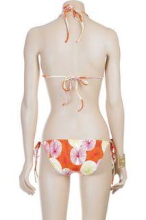 Diane von Furstenberg Printed string bikini   30% Off