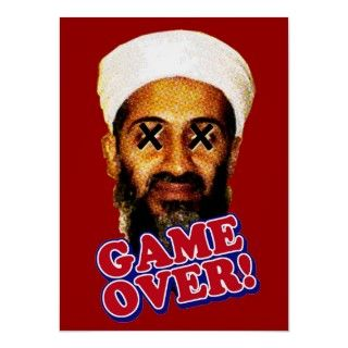 Osama Bin Laden is dead! Justice has finally been served. Game Over!