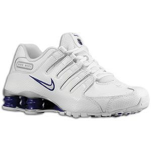 Nike Shox NZ EU   Womens   Running   Shoes   White/Court Purple
