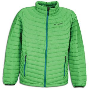 Columbia Powerfly Down Jacket   Mens   Casual   Clothing   Fuse Green